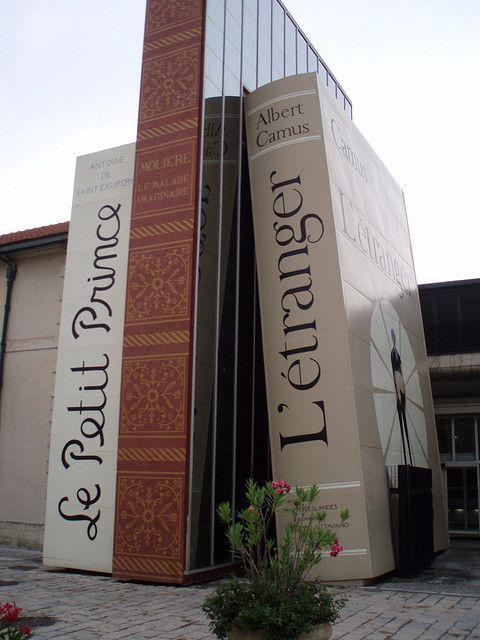 Biblioth que m janes aix en provence france les plus for Bibliotheque salon de provence