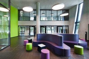 oase - universitätsmediothek - hpp architekten / arge pappa - ukw innenarchitekten